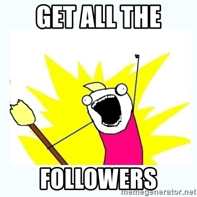 All the things - get all the followers