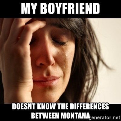 crying girl sad - My Boyfriend Doesnt know the differences between MOntana