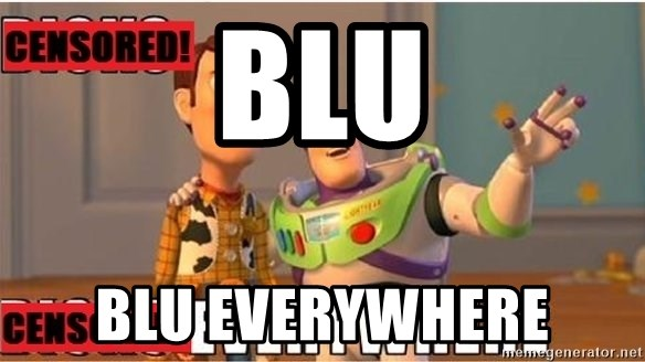Toy Story Everywhere - BLU BLU EVERYWHERE