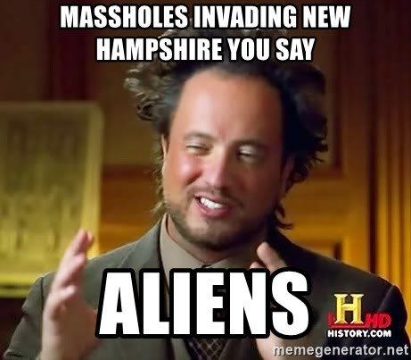 Giorgio A Tsoukalos Hair - massholes invading new hampshire you say Aliens
