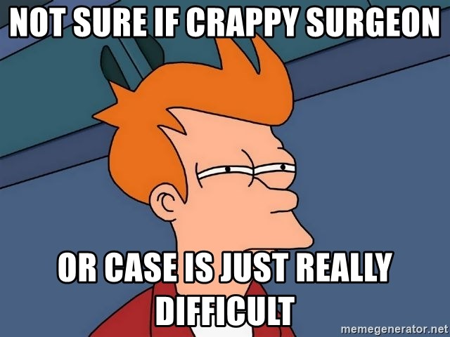 Futurama Fry - Not sure if crapPy surgeon Or case is just really dIffiCult