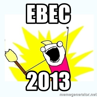 All the things - ebec 2013