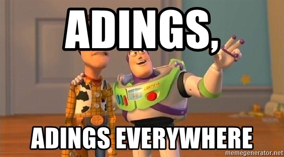 Consequences Toy Story - Adings, Adings Everywhere
