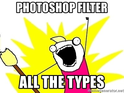 X ALL THE THINGS - Photoshop filter All the types