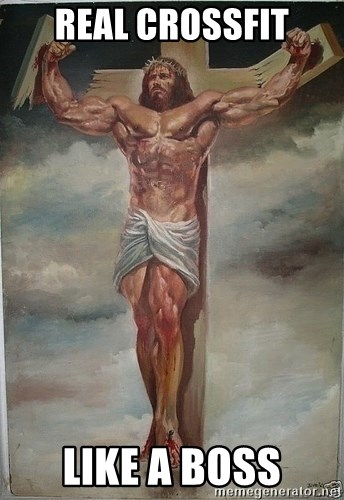 Muscles Jesus - REal crossfit like a boss