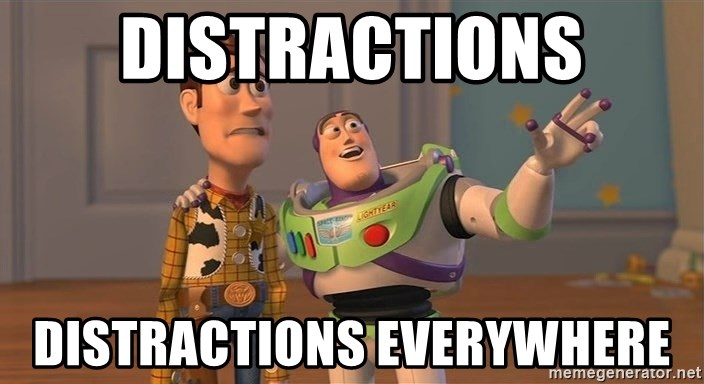 Toy Story Everywhere - distractions distractions everywhere