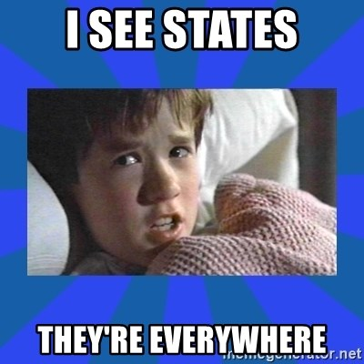 i see dead people - i see states they're everywhere