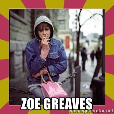 ZOE GREAVES DOWNTOWN EASTSIDE VANCOUVER -  Zoe Greaves