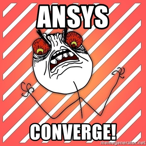 iHate - Ansys Converge!