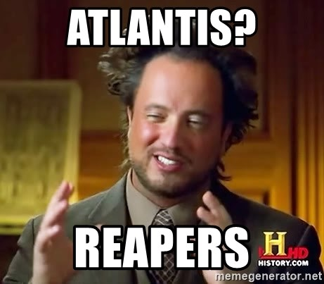 Ancient Aliens - Atlantis? Reapers