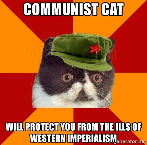 Communist Cat - Communist Cat will protect you from the ills of Western Imperialism
