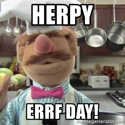 swedish chef - Herpy Errf Day!