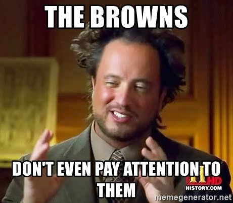 Giorgio A Tsoukalos Hair - The Browns Don't Even Pay Attention To Them