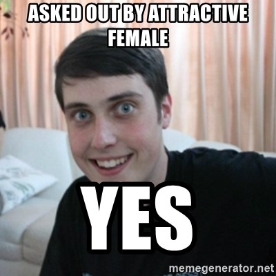 The Overly Attached Boyfriend - asked out by attractive female Yes