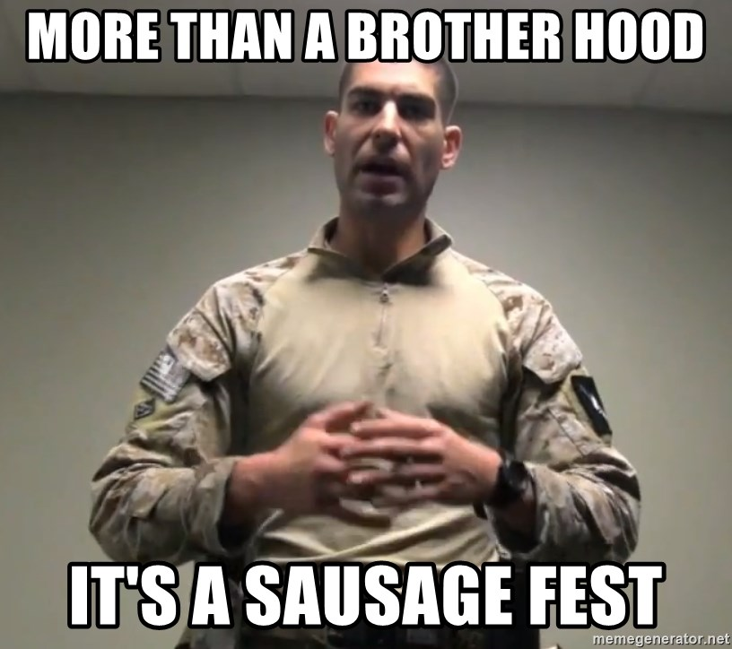 GMRPLS - More than a Brother Hood It'S A Sausage Fest