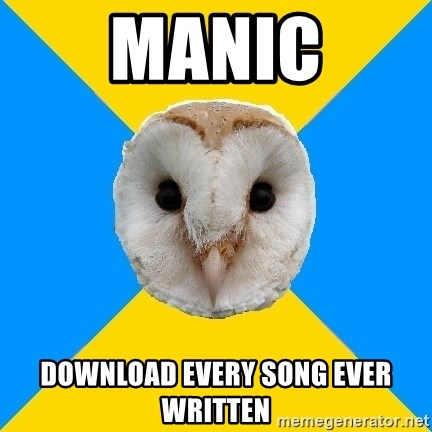 Bipolar Owl - manic download every song ever written