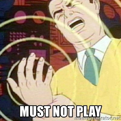 must not fap -  must not play