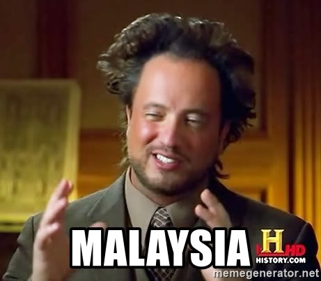 Ancient Aliens -  Malaysia