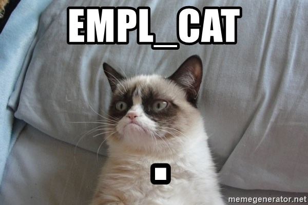 Grumpy cat good - EMPL_CAT  .