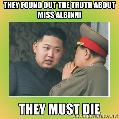 kim joung - they found out the truth about miss albinni they must die