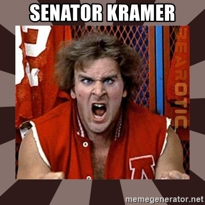 Revenge of the Nerds - Senator Kramer