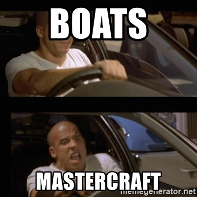 Vin Diesel Car - Boats  Mastercraft