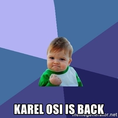 Success Kid -  Karel osi is back