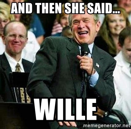 Laughing Bush - ANd THen She SAID... Wille