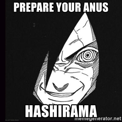 rape face madara - Prepare your anus hashirama
