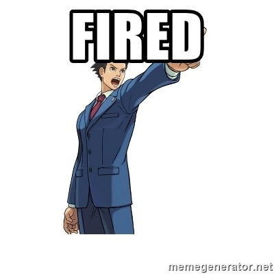 OBJECTION - FIRED