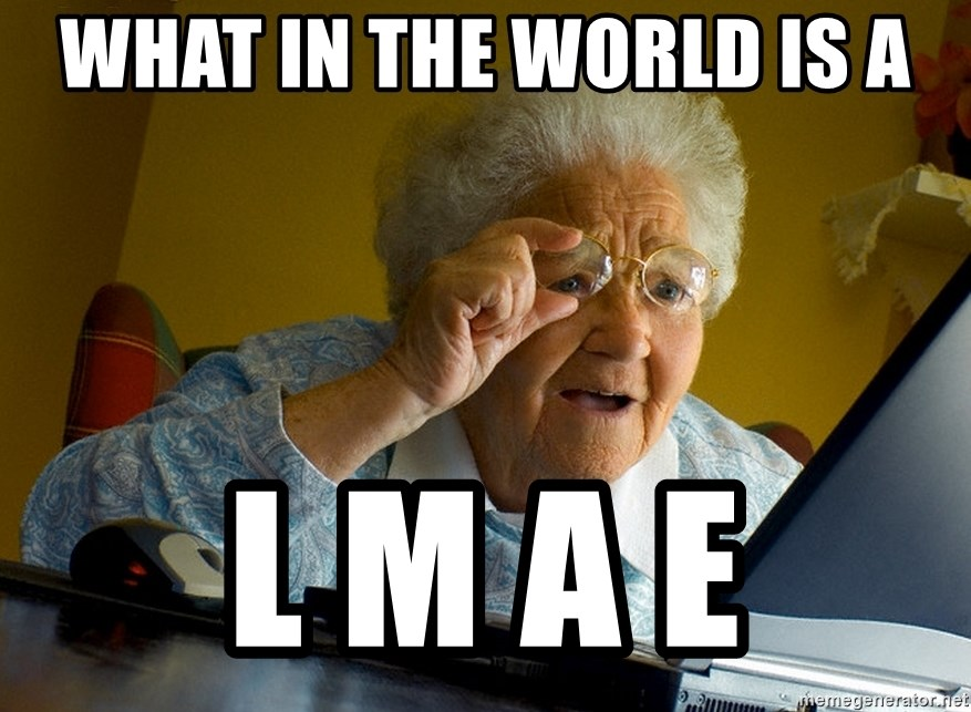 Internet Grandma Surprise - what in the world is a l m a e