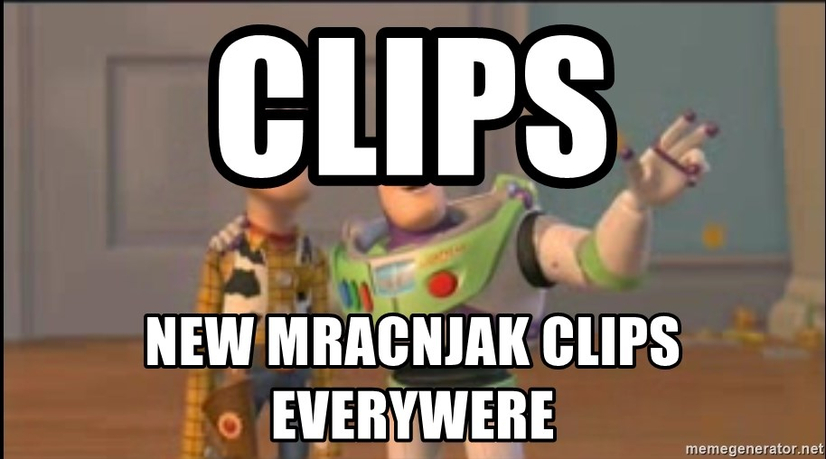 X, X Everywhere  - clips new mracnjak clips everywere