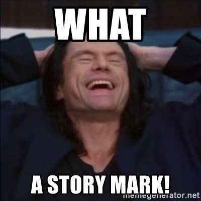 What a story, Mark! - What a story mark!