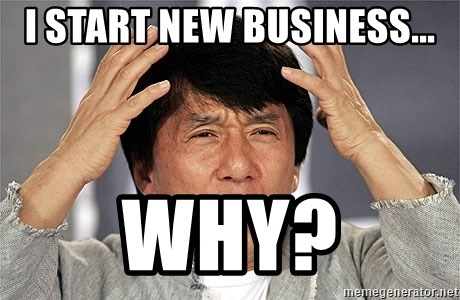 Jackie Chan - I start new business... why?