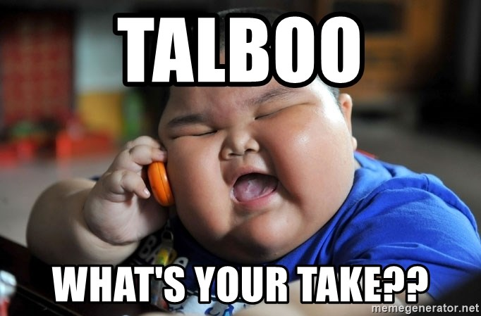 Fat Asian Kid - Talboo What's your take??