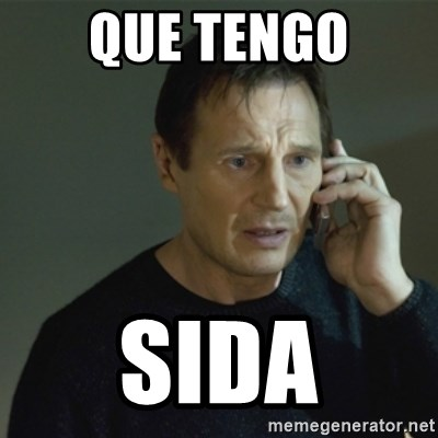 I don't know who you are... - QUE TENGO SIDA