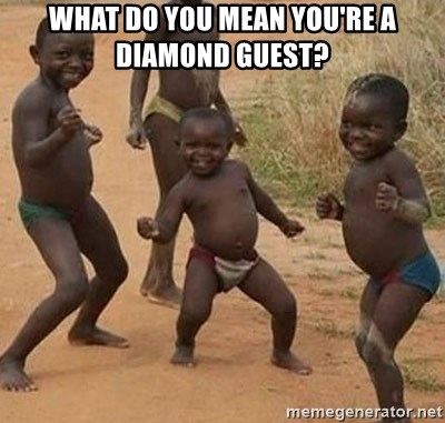 Dancing African Kid - What do you mean you're a diamond guest?