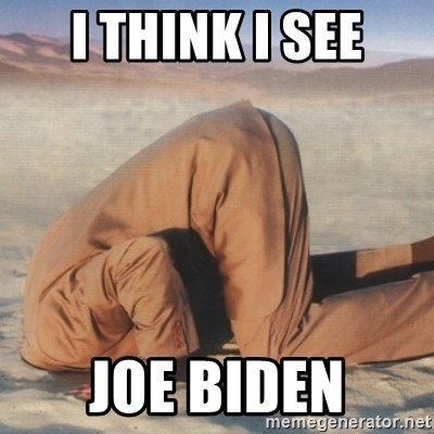 you're so deep - i think i see joe biden