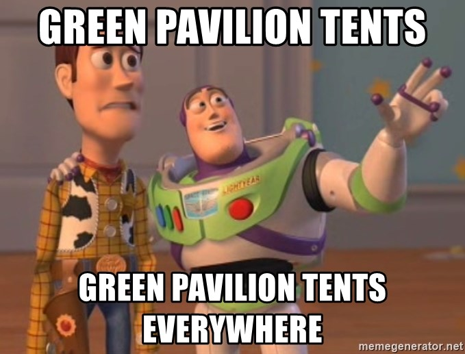 Tseverywhere - green pavilion tents green pavilion tents everywhere