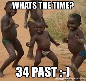african children dancing - WHATS THE TIME? 34 PAST :-)