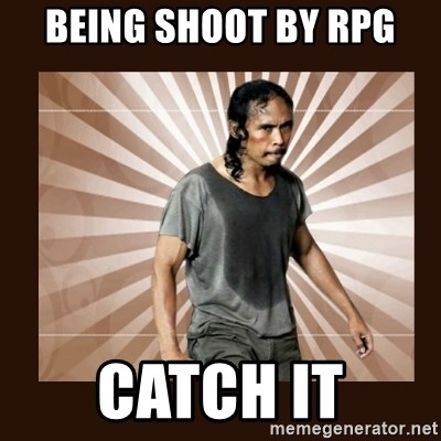 MadDog (The Raid) - Being shoot by rpg catch it