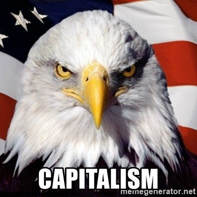 Freedom Eagle  -  capitalism