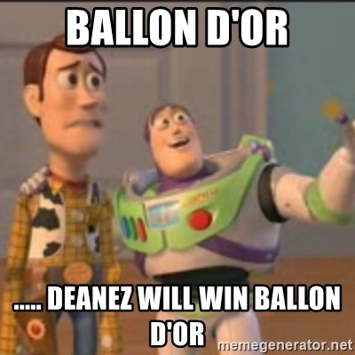 Buzz - Ballon d'or ..... Deanez will win ballon d'oR