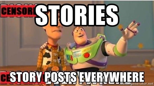 Toy Story Everywhere - stories STORY POSTS EVERYWHERE