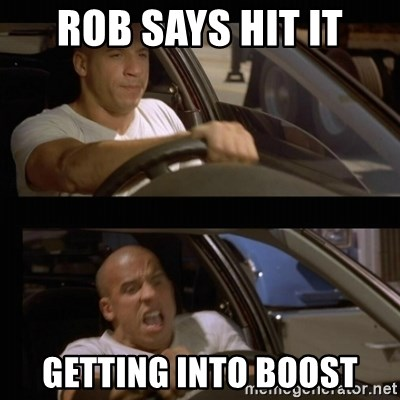 Vin Diesel Car - Rob says hit it Getting into boost
