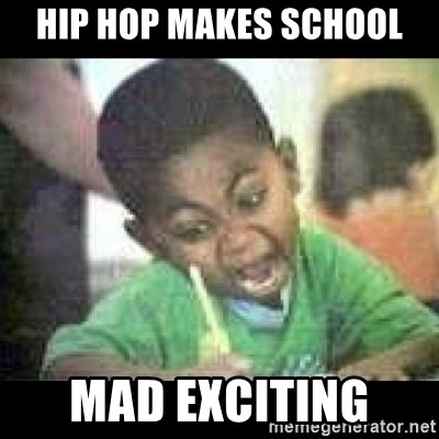 Black kid coloring - Hip Hop Makes school MAD EXCITING
