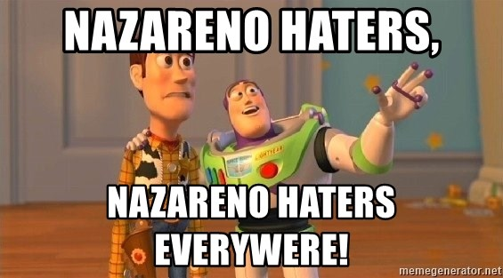 Consequences Toy Story - NAzareno haters, nazareno haters everywere!