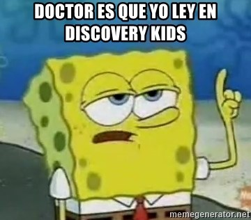 Tough Spongebob - DOCTOR ES QUE YO LEY EN DISCOVERY KIDS