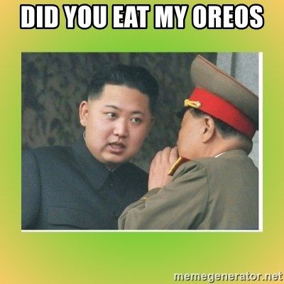 kim joung - DID YOU EAT MY OREOS