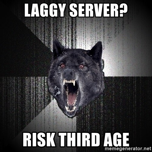 Insanity Wolf - Laggy server? risk third age
